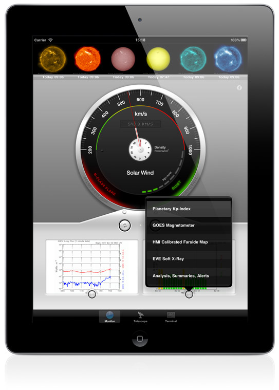 Solar Monitor Pro for iPad